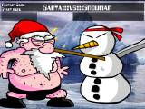 Kristmas kombat flash игры флэш игры online онлайн игры