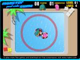Monster pool side sumo flash игры флэш игры online онлайн игры